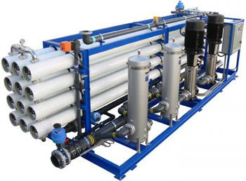 دستگاه آب شیرین کن به روش اسمز معکوس ( RO )