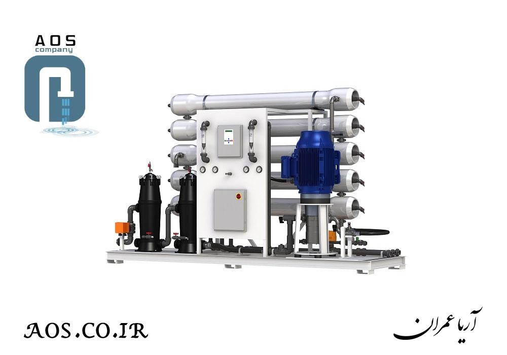 تصفیه آب صنعتی , آب شیرین کن , آب شیرین