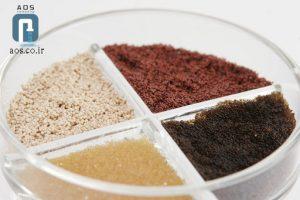 رزین کاتیونی چیست | کاربرد رزین کاتیونی | شرکت آریا عمران