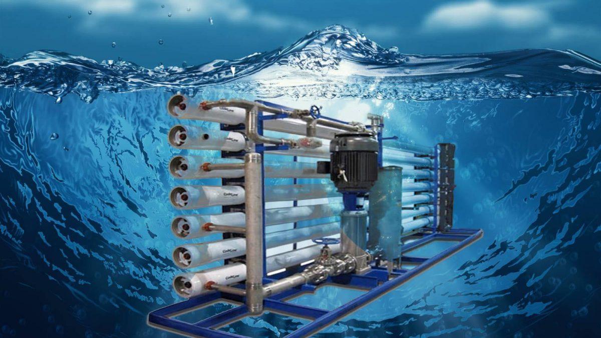 کاربرد آب شیرین کن   آب شیرین کن صنعتی   آریاعمران
